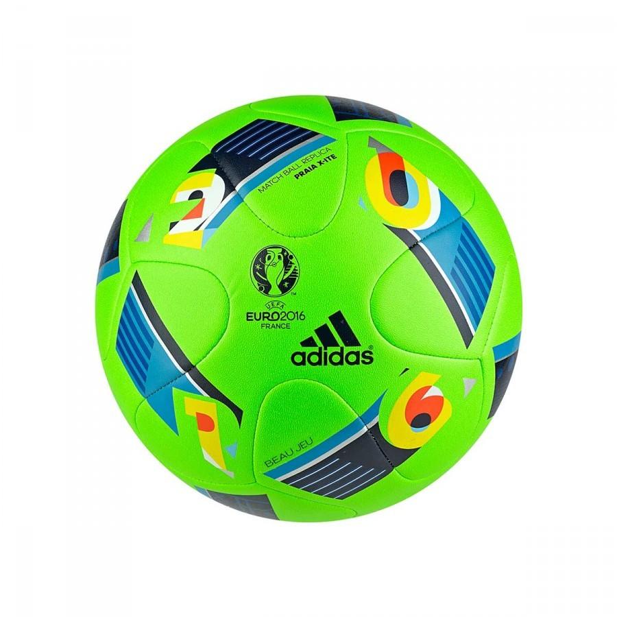 e090f95ec Pallone adidas Euro 16 Playa Verde-Blu - Negozio di calcio Fútbol Emotion