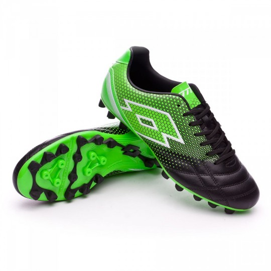 Chaussure  Lotto Spider 700 XIII AG Black-Mint fluor