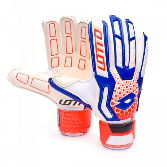 Luvas  Lotto Spider 100 White-Blue shiver