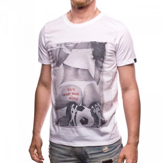 Camiseta  US360º Alone White