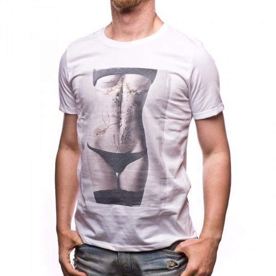 Camiseta  US360º Body tattoo White