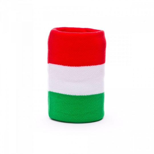 Muñequera  SP Italia Rojo-Blanco-Verde
