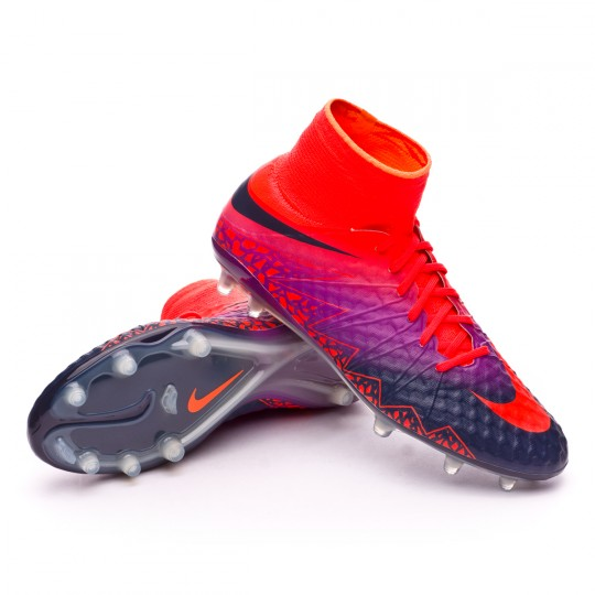 Bota  Nike HyperVenom Phantom II ACC FG Total crimson-Obsidian-Vivid purple-Bright cr