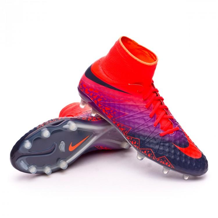 9ec2f2a48 Football Boots Nike HyperVenom Phantom II ACC FG Total crimson ...