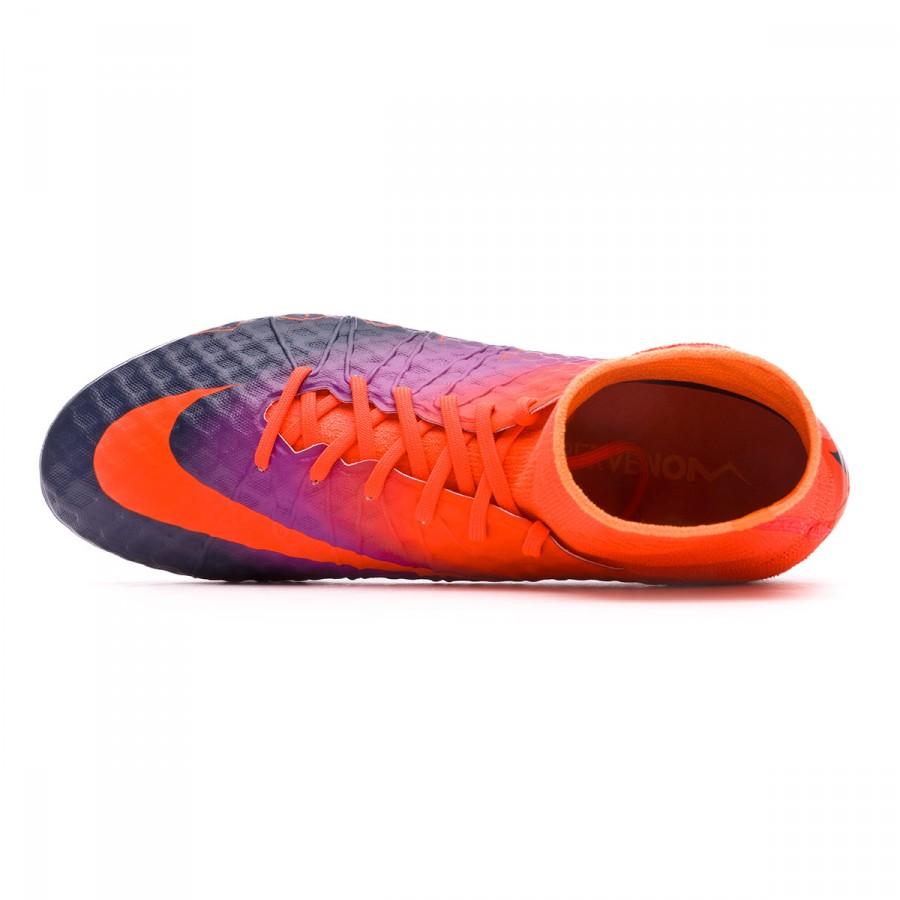fd2deddf4 Football Boots Nike HyperVenom Phantom II ACC FG Total crimson-Obsidian-Vivid  purple-Bright cr - Tienda de fútbol Fútbol Emotion