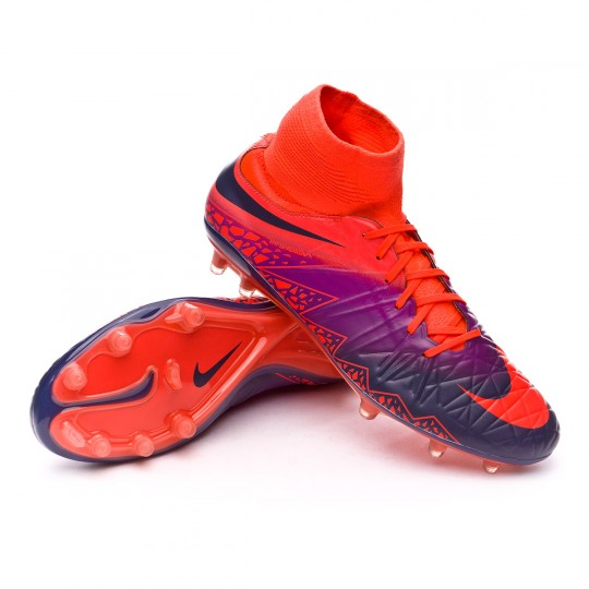 Bota  Nike HyperVenom Phatal II Dynamic Fit FG Total crimson-Obsidian-Vivid purple-Bright cr