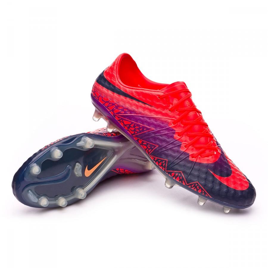 1b6d6f206 Nike HyperVenom Phinish II FG Football Boots. Total crimson-Obsidian-Vivid  purple-Bright ...