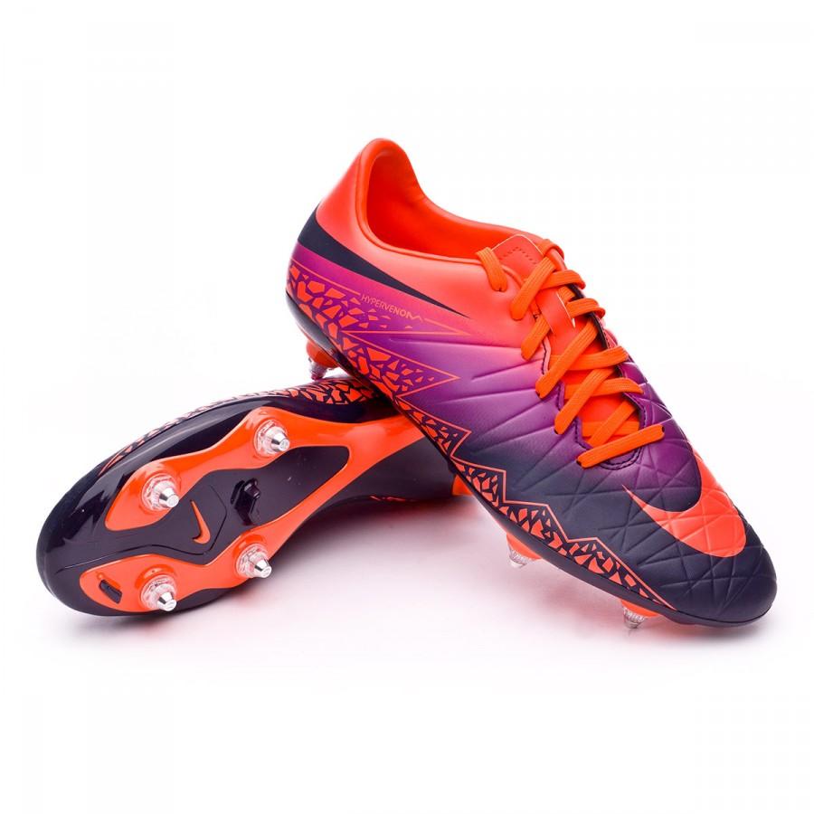 Boot Nike HyperVenom Phelon II SG Total crimson-Obsidian ...