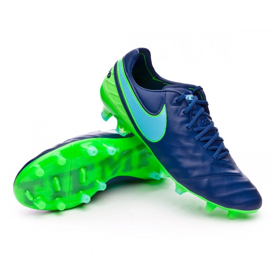 Bota  Nike Tiempo Legend VI ACC FG Coastal blue-Polarized blue-Rage green