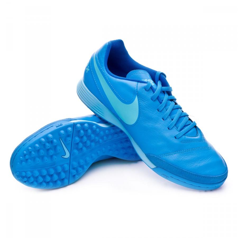 c8c1f7ab79e ... Zapatilla TiempoX Genio Leather II Turf Blue glow-Polarized blue-Soar.  CATEGORY