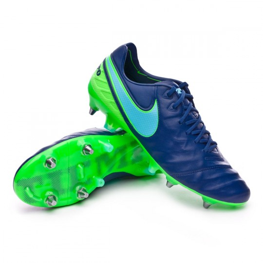 Bota  Nike Tiempo Legend VI ACC SG-Pro Coastal blue-Polarized blue-Rage green