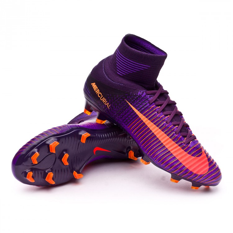 8af5a780ce8d Football Boots Nike Mercurial Superfly V ACC FG Purple dynasty ...