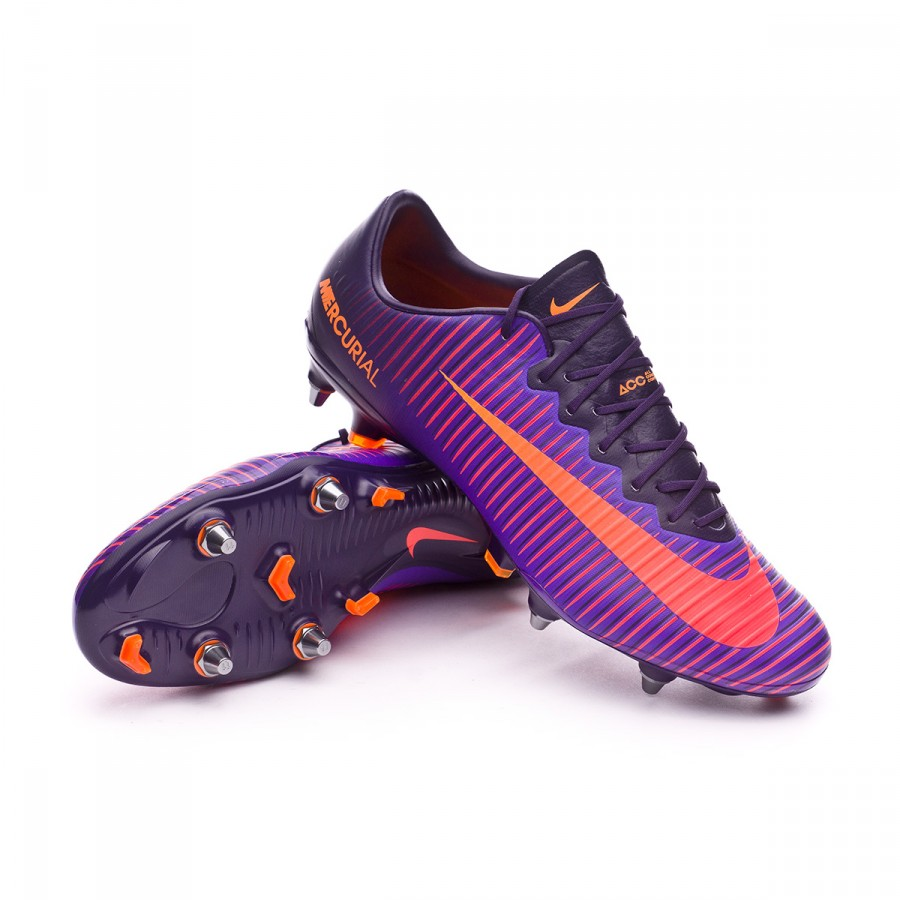c9b3dd631595a Nike Mercurial Vapor XI ACC SG-Pro Football Boots. Purple dynasty-Bright  citrus-Hyper ...