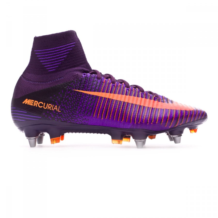 183332f88789 Football Boots Nike Mercurial Superfly V ACC SG-Pro Purple dynasty-Bright  citrus-Hyper grape - Football store Fútbol Emotion