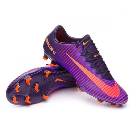 Chuteira  Nike Mercurial Vapor XI ACC FG Purple dynasty-Bright citrus-Hyper grape