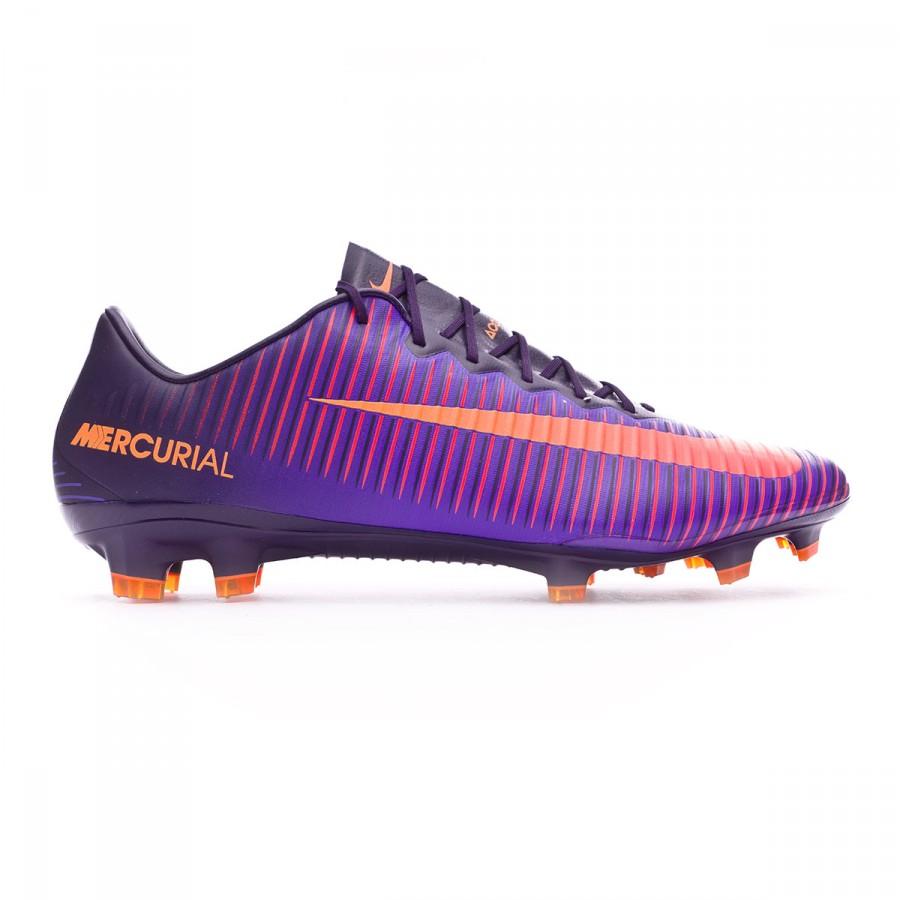 the latest 63bd3 cdf89 Football Boots Nike Mercurial Vapor XI ACC FG Purple dynasty-Bright  citrus-Hyper grape - Tienda de fútbol Fútbol Emotion
