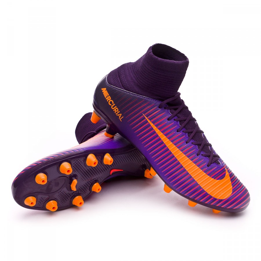 013c87510f537 Football Boots Nike Mercurial Veloce III AG-Pro Purple dynasty ...