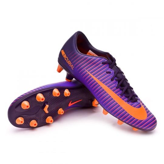 Chuteira  Nike Mercurial Victory VI AG-Pro Purple dynasty-Bright citrus-Hyper grape
