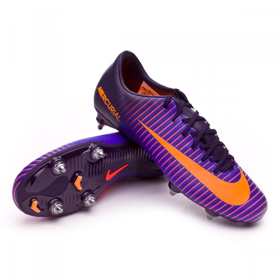 cf2c4b5415e Football Boots Nike Mercurial Victory VI SG Purple dynasty-Bright ...