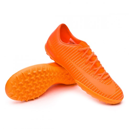 Zapatilla de fútbol sala  Nike MercurialX Victory VI Turf Total orange-Bright citrus-Hyper crimson