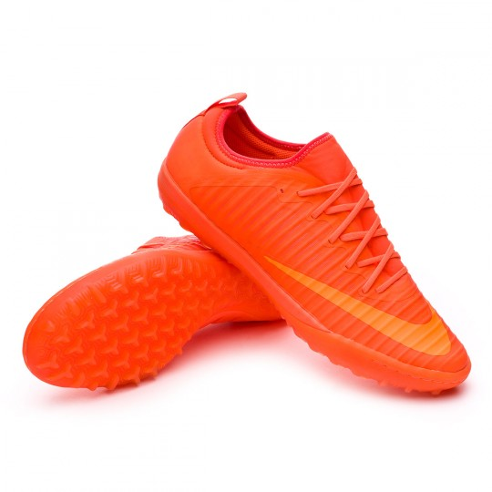 Zapatilla de fútbol sala  Nike MercurialX Finale II Turf Total orange-Bright citrus-Hyper crimson