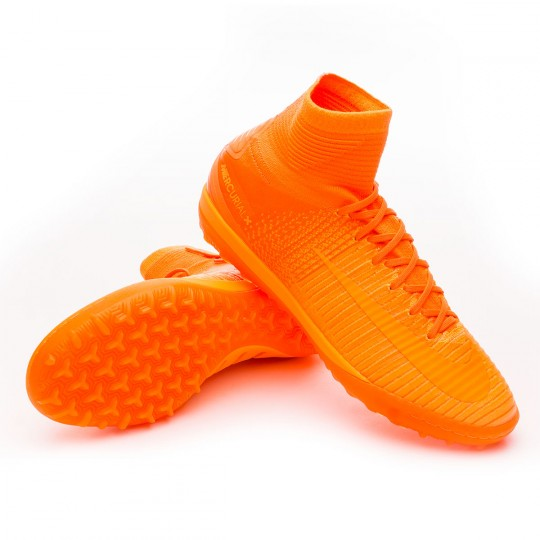 Zapatilla de fútbol sala  Nike MercurialX Proximo II Turf Total orange-Bright citrus-Hyper crimson