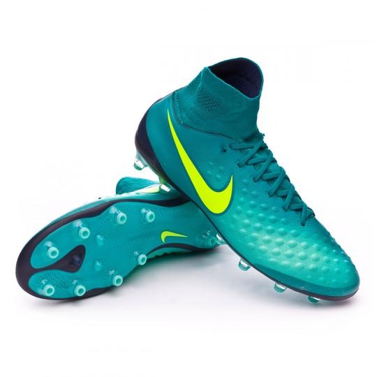 Chuteira  Nike Magista Orden II AG-Pro Rio teal-Volt-Obsidian-Clear jade