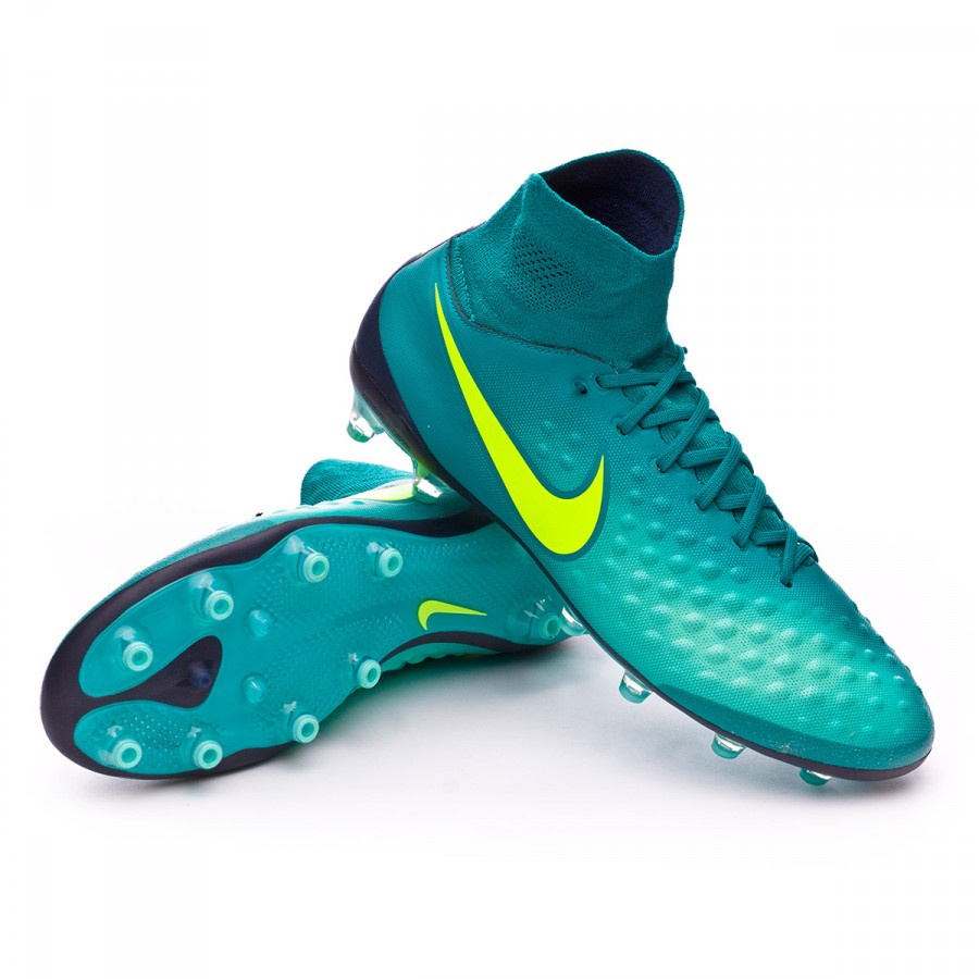 Bota de fútbol Nike Magista Orden II AG-Pro Rio teal-Volt-Obsidian ... 8dfd8d4435faf