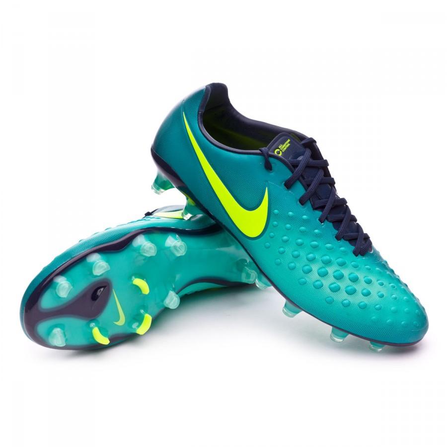 21d2d3a78 Nike Magista Opus II FG Football Boots. Rio teal-Volt-Obsidian-Clear ...