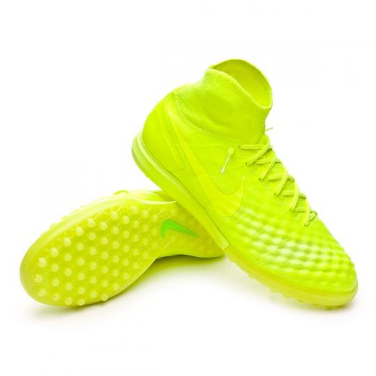 Zapatilla de fútbol sala  Nike MagistaX Proximo II Turf Volt-Barely Volt-Electric green