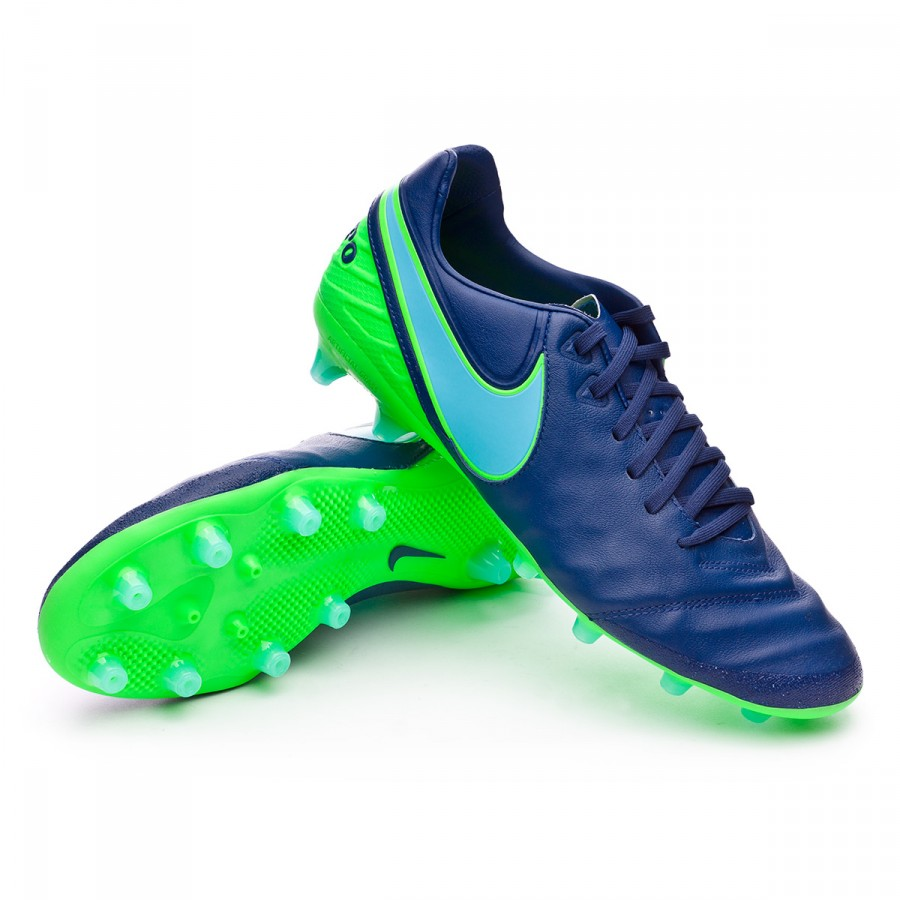 5c46d11d0bbd Football Boots Nike Tiempo Legacy II AG-Pro Coastal blue-Polarized ...