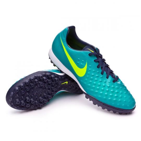 Zapatilla de fútbol sala  Nike MagistaX Onda II Turf Rio teal-Volt-Obsidian-Clear jade