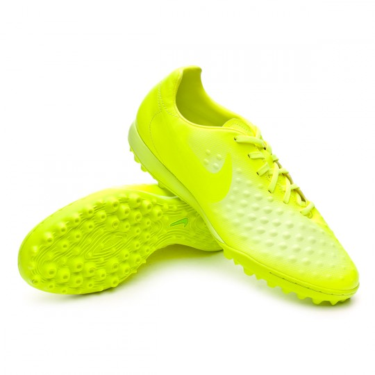 Sapatilha de Futsal  Nike MagistaX Onda II Turf Volt-Barely Volt-Electric green