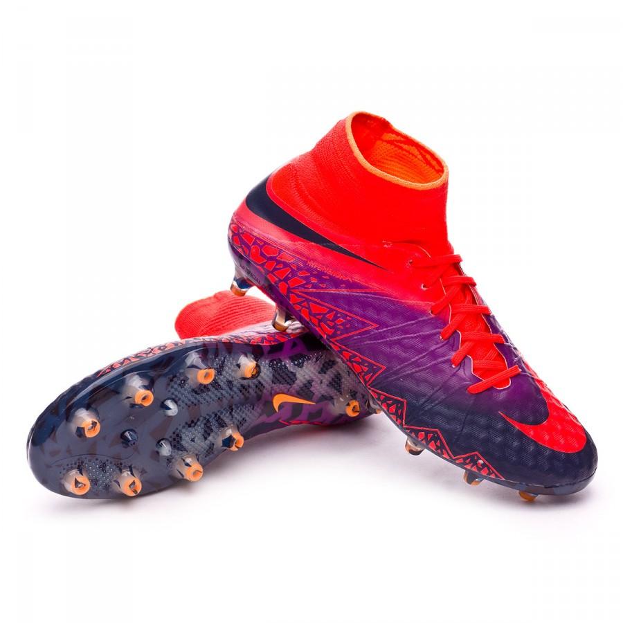 1de902e3e4555 Bota de fútbol Nike HyperVenom Phantom II ACC AG-Pro Total  crimson-Obsidian-Vivid purple-Bright cr - Tienda de fútbol Fútbol Emotion