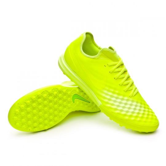 Zapatilla de fútbol sala  Nike MagistaX Finale II Turf Volt-Barely Volt-Electric green