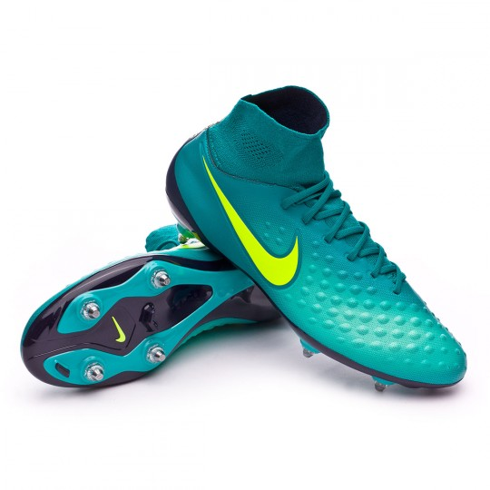 Chuteira  Nike Magista Orden II SG Rio teal-Volt-Obsidian-Clear jade