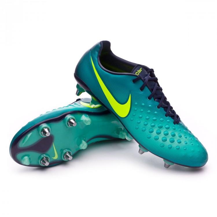 c5f591e8cbbbf Chuteira Nike Magista Opus II ACC SG-Pro Rio teal-Volt-Obsidian ...