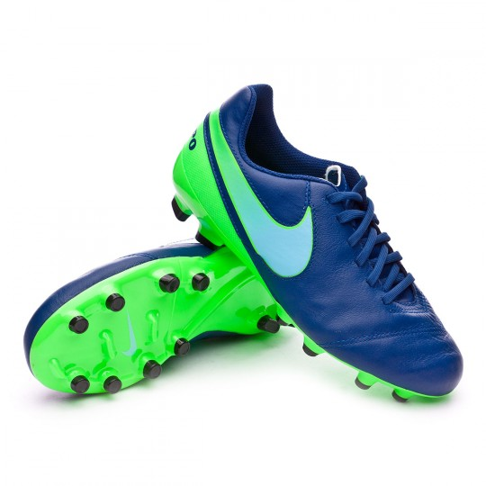 Bota  Nike Tiempo Legend VI FG Niño Coastal blue-Polarized blue-Rage green