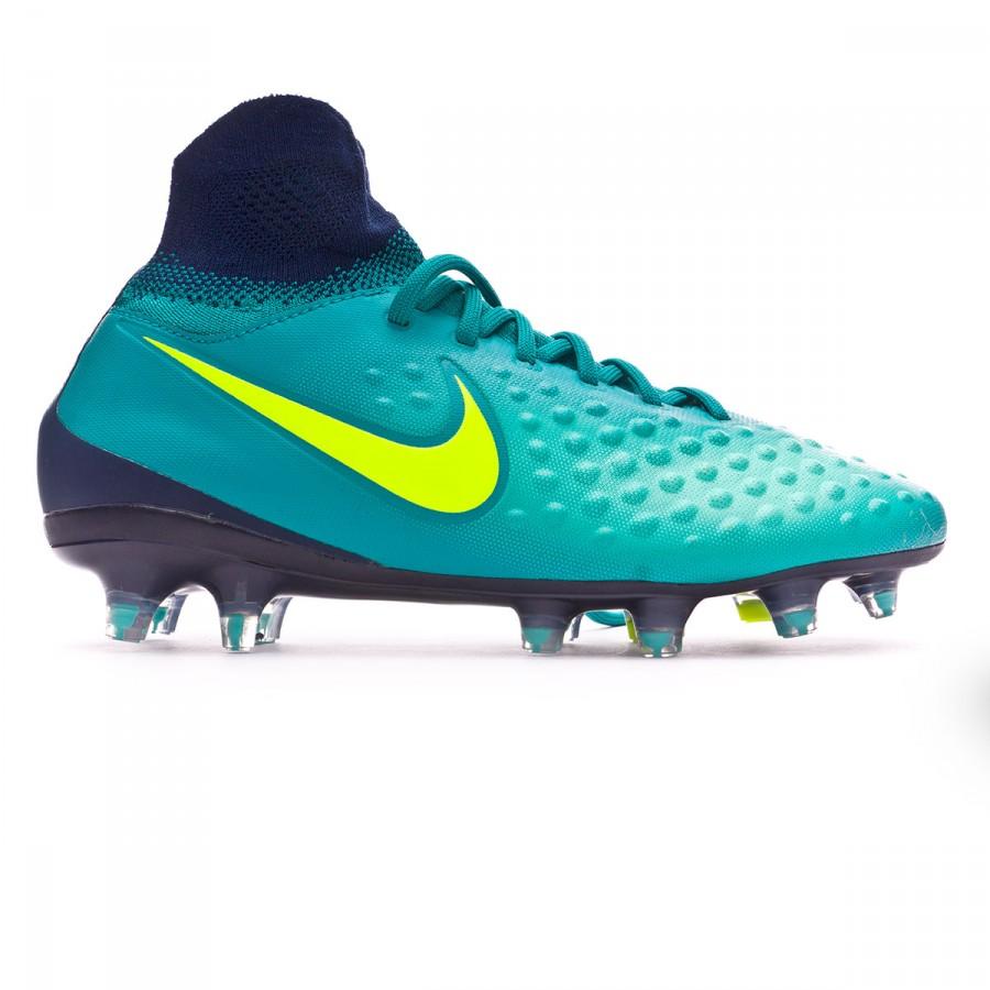 new styles 0a061 0deff Boot Nike Jr Magista Obra II FG Rio teal-Volt-Obsidian-Clear jade -  Soloporteros es ahora Fútbol Emotion