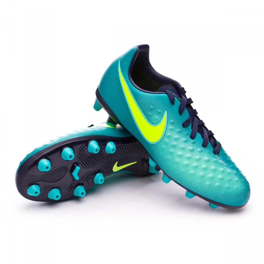 7a93e15e9f20 Football Boots Nike Jr Magista Opus II AG-Pro Rio teal-Volt-Obsidian ...
