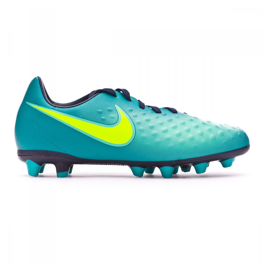 meet faef5 04a2a Football Boots Nike Jr Magista Opus II AG-Pro Rio teal-Volt-Obsidian-Clear  jade - Football store Fútbol Emotion