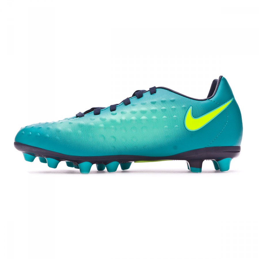267419250 Football Boots Nike Jr Magista Opus II AG-Pro Rio teal-Volt-Obsidian-Clear  jade - Tienda de fútbol Fútbol Emotion