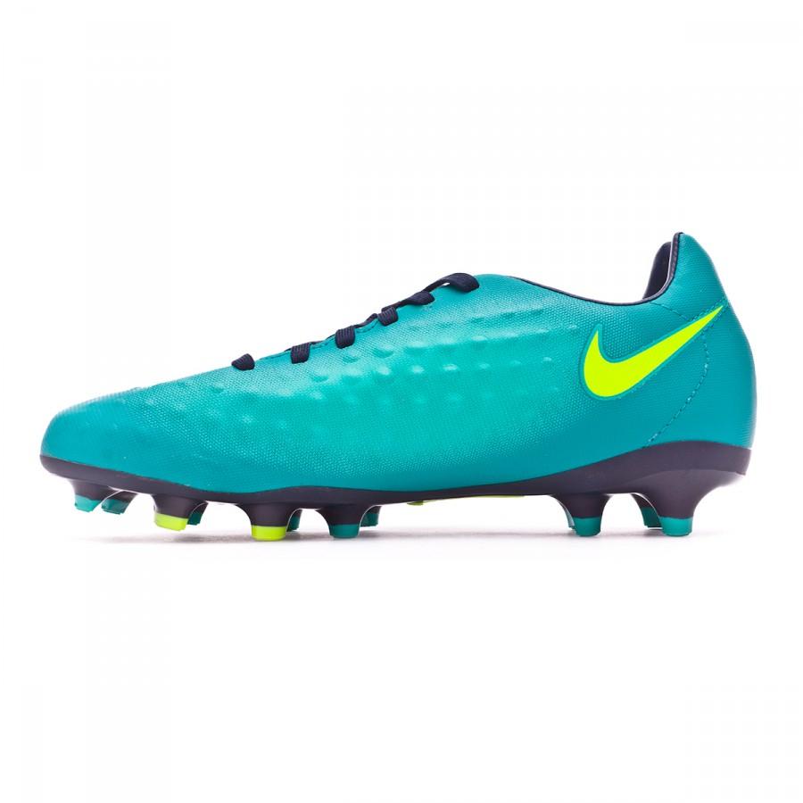 f8a8e179ef7b Football Boots Nike Jr Magista Opus II FG Rio teal-Volt-Obsidian-Clear jade  - Football store Fútbol Emotion