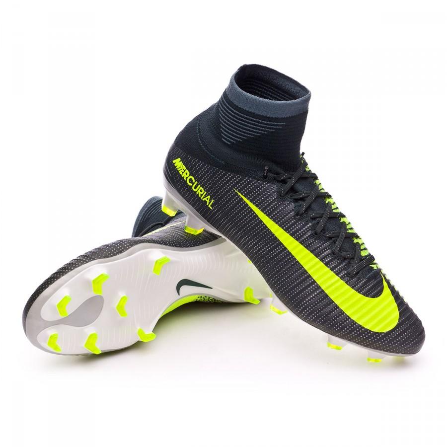604f008ab8360 Bota de fútbol Nike Mercurial Superfly V ACC CR7 FG  Seaweed-Volt-hasta-White - Tienda de fútbol Fútbol Emotion
