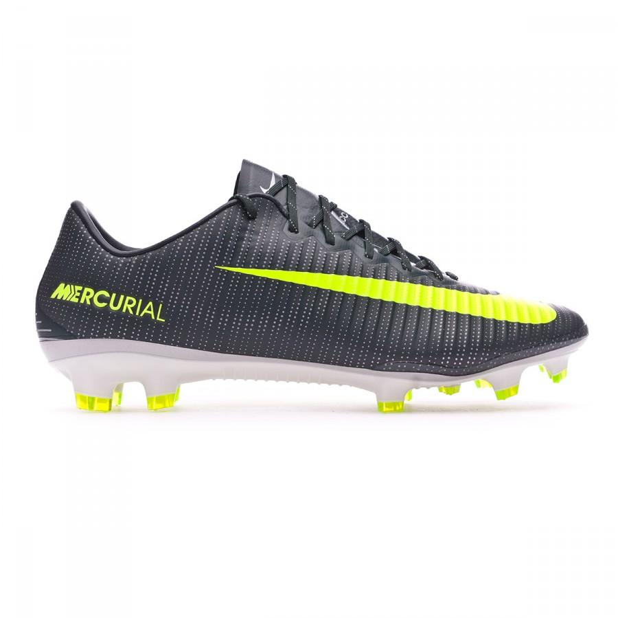 cff89ed8b7575 Zapatos de fútbol Nike Mercurial Vapor XI ACC CR7 FG  Seaweed-Volt-hasta-White - Tienda de fútbol Fútbol Emotion