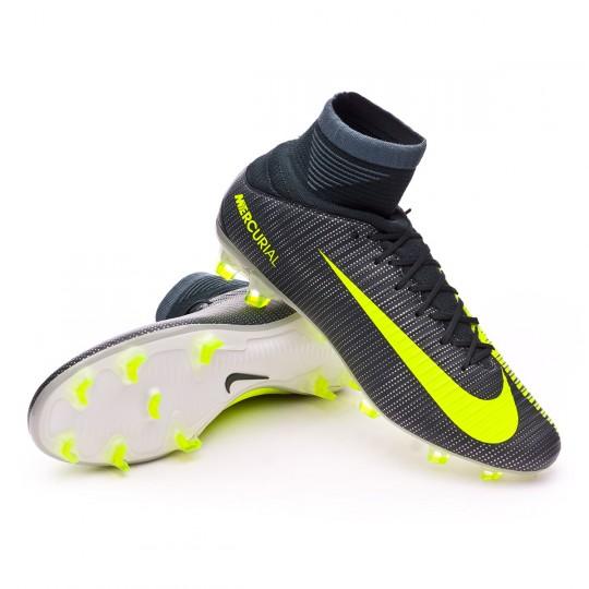 Chuteira  Nike Mercurial Veloce III DF CR7 FG Seaweed-Volt-hasta-White