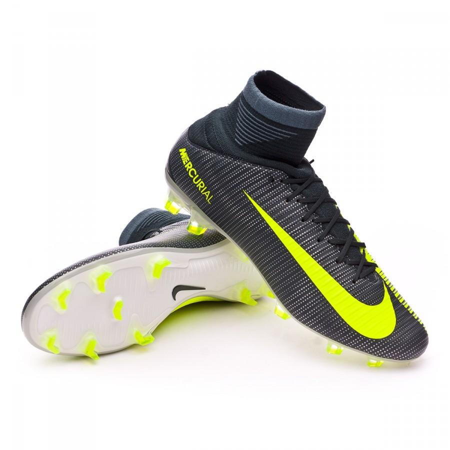 c93435c242c4 Football Boots Nike Mercurial Veloce III DF CR7 FG Seaweed-Volt ...