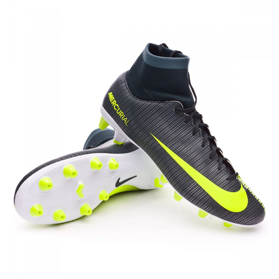 ... Bota Mercurial Victory VI DF CR7 AG-Pro Seaweed-Volt-hasta-White.  CATEGORY. Football boots · Nike football boots defbf538299fd
