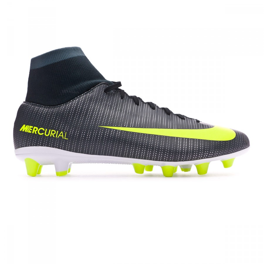 e3dd42df1 Football Boots Nike Mercurial Victory VI DF CR7 AG-Pro Seaweed-Volt-hasta-White  - Football store Fútbol Emotion