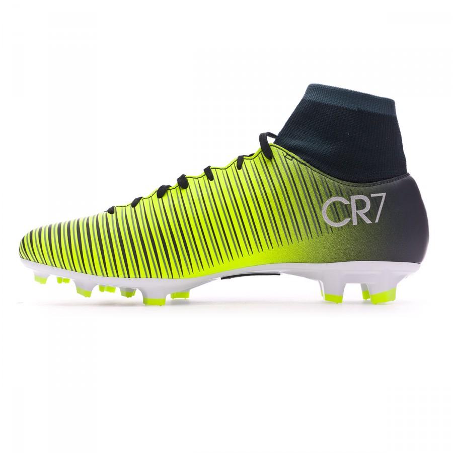 73968a90c Football Boots Nike Mercurial Victory VI DF CR7 FG Seaweed-Volt-hasta-White  - Football store Fútbol Emotion